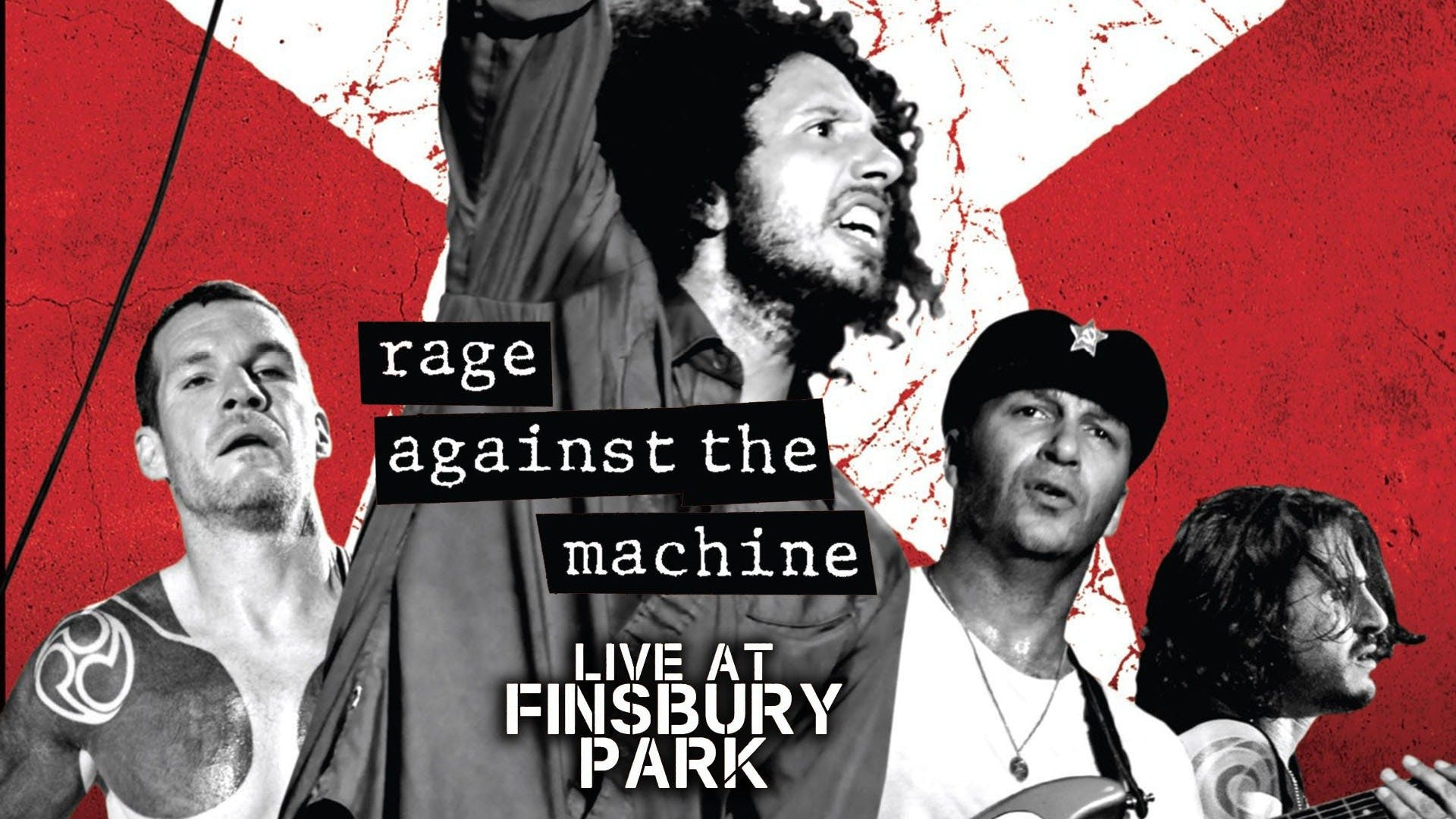 Watch Rage Against The Machine Live At Finsbury Park Stream On