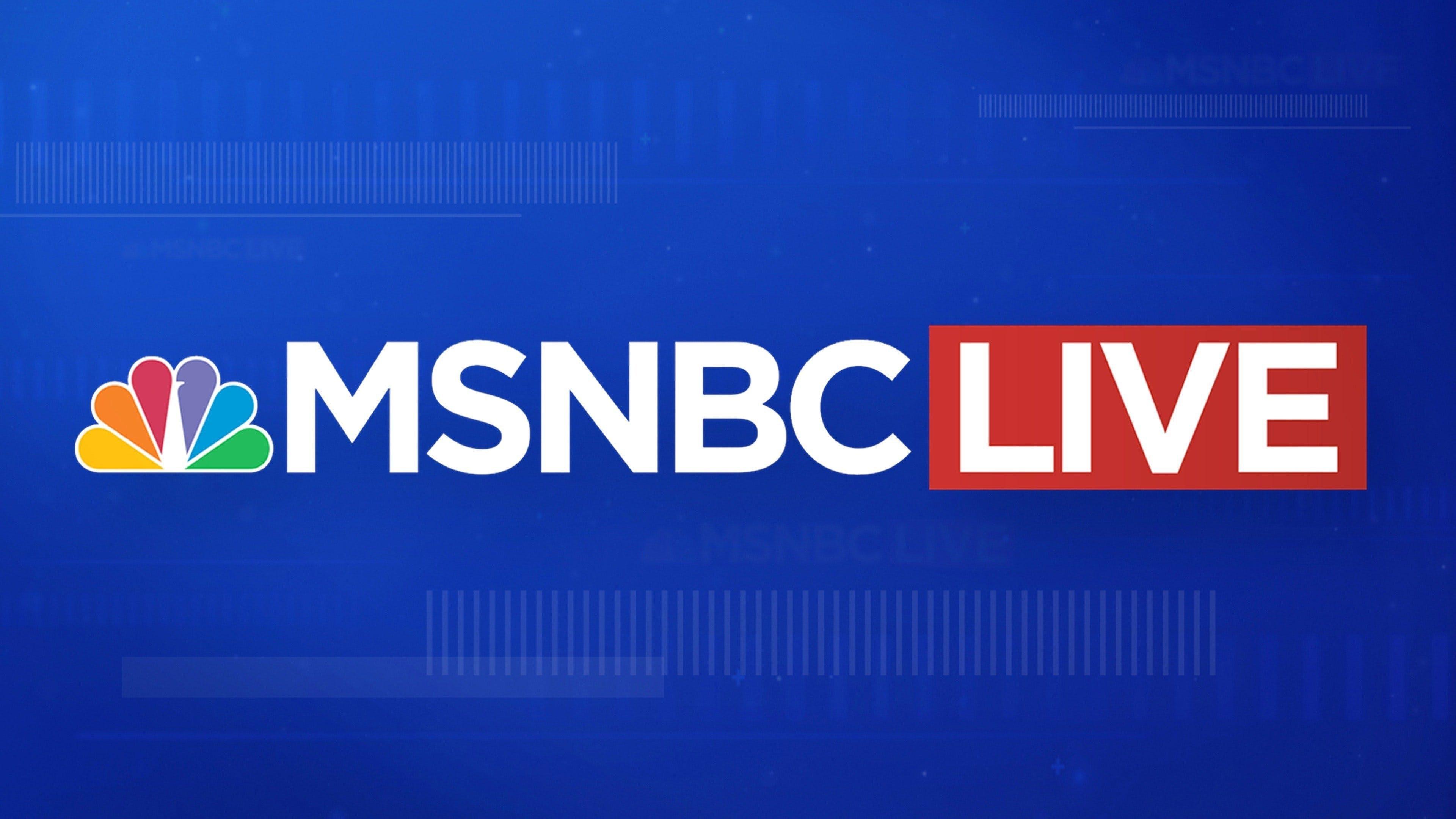 Watch MSNBC Live with Alison Morris | Stream on fuboTV